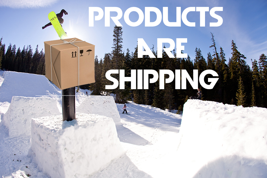 Your Products Are Shipping!