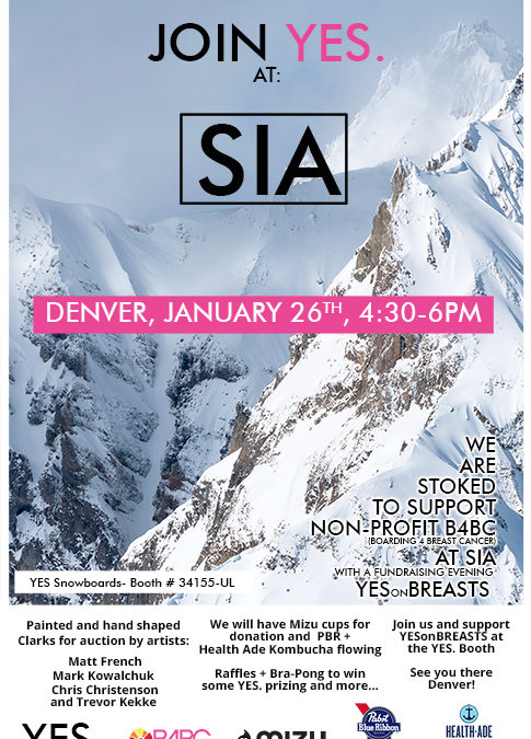 Yes on Breast and Proctect our Winters Fundraiser