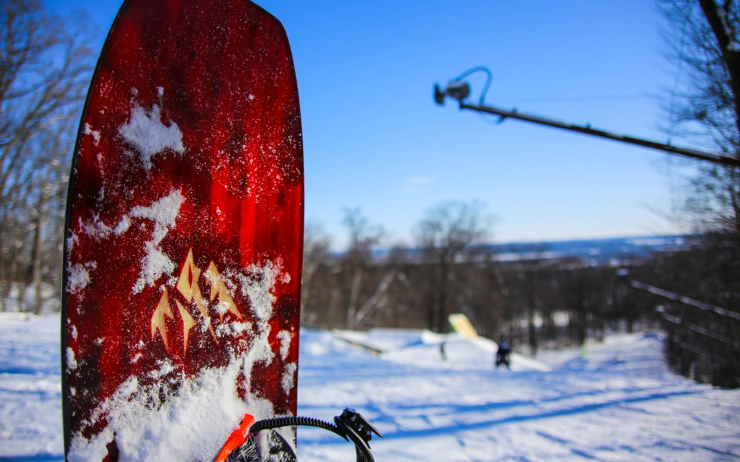 Fresh Snow In Wisconsin