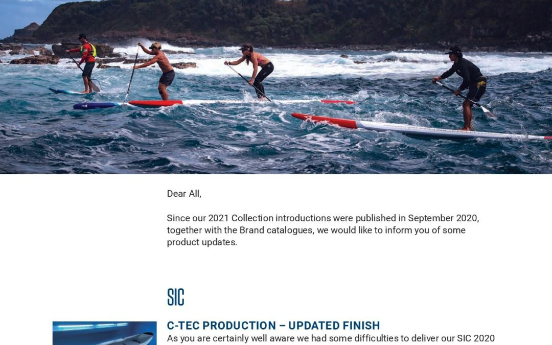 Product Updates For Tahe Outdoors and SIC